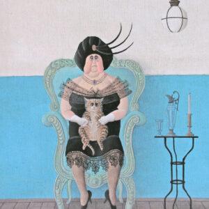 Postkarte Kasimir - Maria Palatini