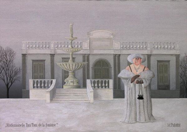 Mademoiselle Tam Tam de la fontaine - Maria Palatini