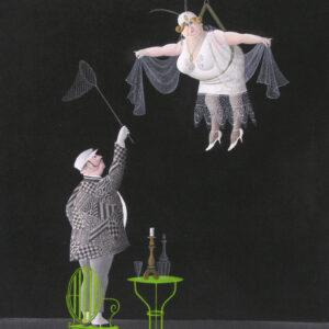 Postkarte Nachtfalter - Maria Palatini