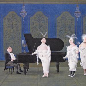 Postkarte Schwanengesang - Maria Palatini