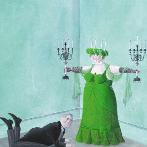 Postkarte Weihnachten - Maria Palatini