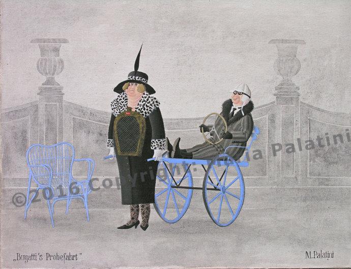 Bugattis Probefahrt - Grösse 40/50
