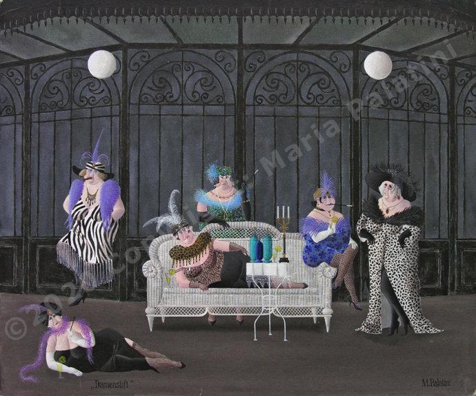 Damenstift – Grösse: 50/60