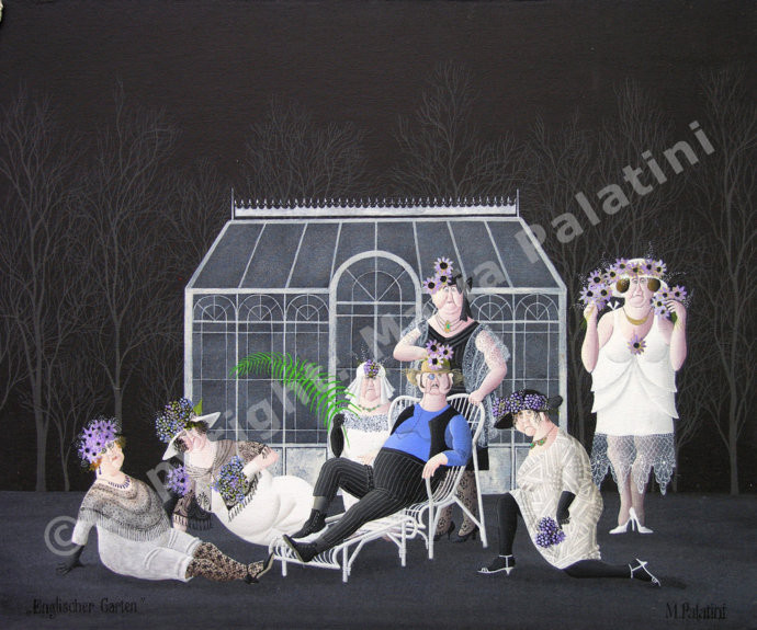 Englischer Garten - Grösse 60/50