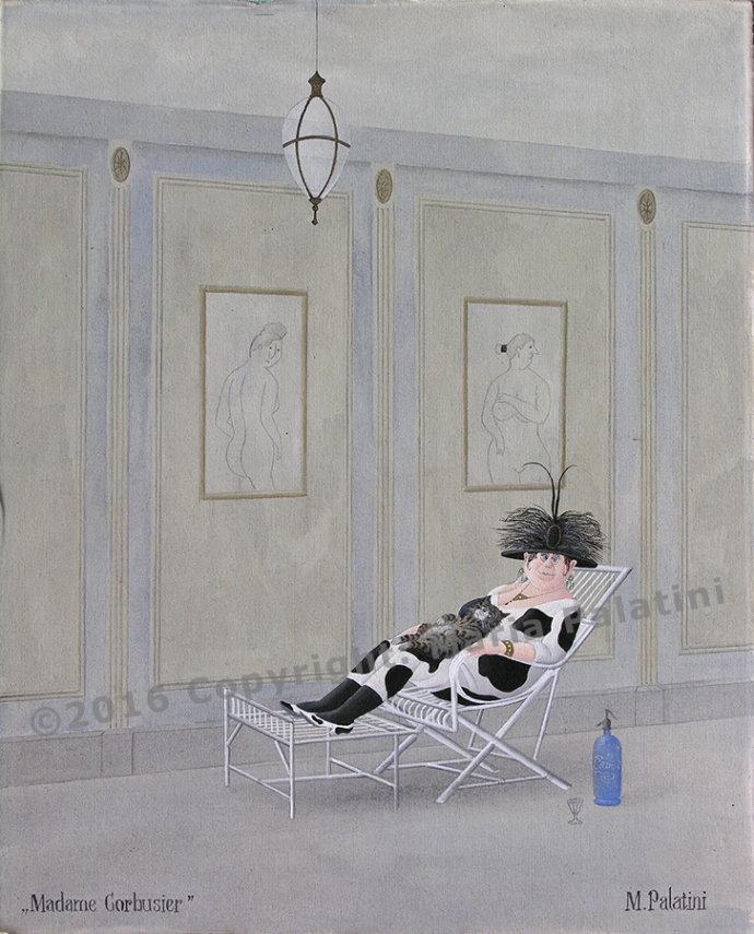 Madame Corbusier - Grösse: 40/50