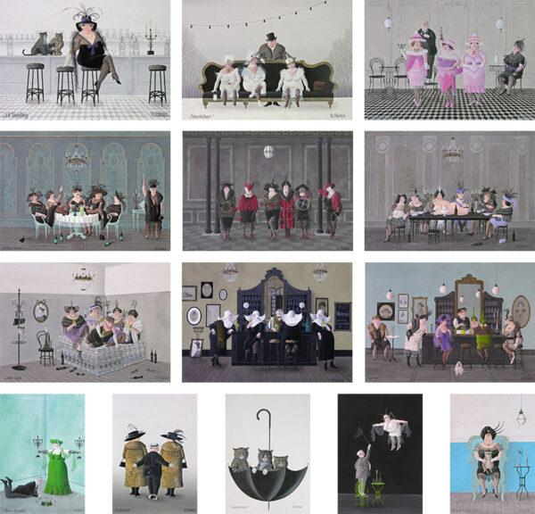 Postkarten-Set - Maria Palatini